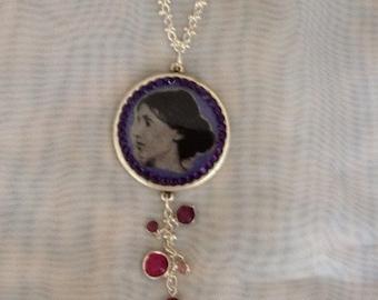 Virginia Woolf, English Writer - Necklace