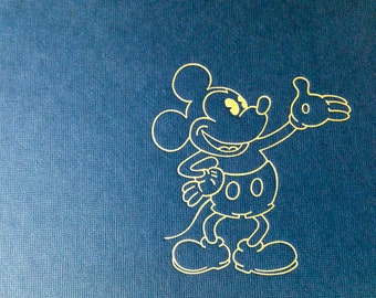 The Art of Walt Disney Vintage Hard Cover Book by Christopher Finch Copyright 1975
