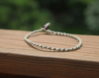 Basic Spiral Knot Hemp Necklace