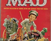 More TRASH from MAD MAGAZINE #3 1960 What Me Worry? Alfred E Neuman Bill Elder Wally Wood Kelly Freas Don Martin Jack Davis Mort Drucker