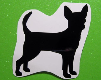 Chihuahua vinyl sticker decal