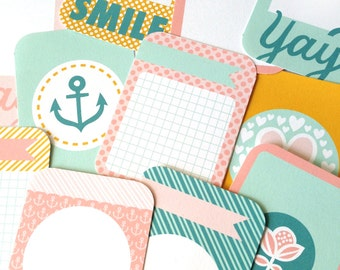 Printable 4x3 Journal Cards - Sweet Collection - Instant Download - Digital Collage, Card Making, Journaling, Scrapbooking, Project Life