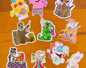 10 Pack of Stickers - Dab Sticker Pack - 710 Dab Slaps with Odor Proof Bag