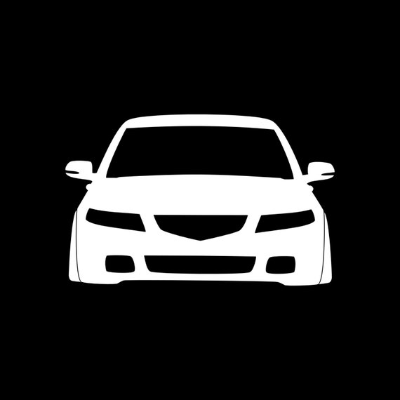 Items Similar To Acura TSX CL9 JDM Car Sticker Decal Turbo