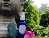 Custom Aum aromatherapy spray with Crystal Reading and Yogic consult