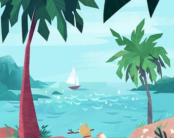 Summer - Art Print