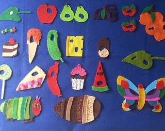 The Very Hungry Caterpillar Felt story
