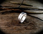 Not All Who Wander Are Lost Hand Stamped Inspirational Quote Ring