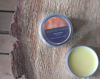 middle earth : solid perfume / fragrance