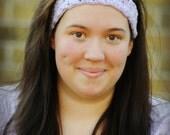Crochet Head Band, Woman Adjustable Headband, Any Color Available