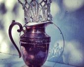 Crown Rhinestone Silver Bridal Headpiece Hair Band Princess Birthday Crown Queen