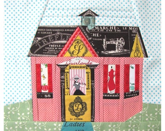 Cozy Cottage,  a Paper Piecing Pattern