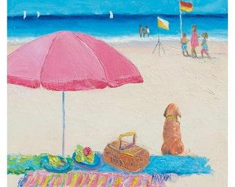 Popular Items For Whimsical Beach Art On Etsy