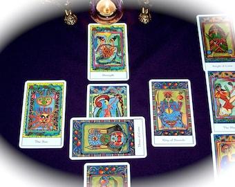 Celtic Cross Tarot Reading, 10 card Tarot Reading, Classic Celtic Cross