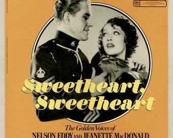 Nelson Eddy and Jeanette MacDonald, Sweetheart, Sweetheart - Famous Songs from their Movies, Reader's Digest LP  Vintage Vinyl Record Album