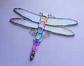 Dragonfly, Suncatcher, Stained Glass, Decorative, Window Art
