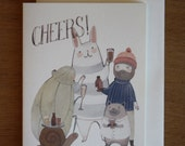 Card- Beers Cheers