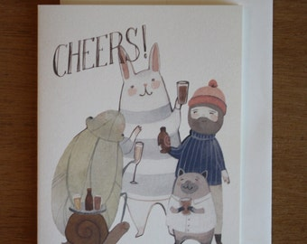 Card- Beers Cheers