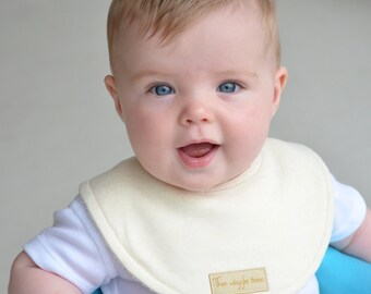 PRE-ORDER: Dribble Bib - Bamboo Jersey Super absorbent 3 layer Organic Bamboo.