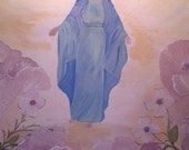 """Painting """"Blessed Mother Mary"""" 16x20"""""""