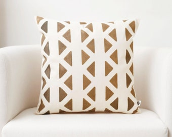 Throw pillow - modern pillow - hand painted pillow - accent pillows collection   0147