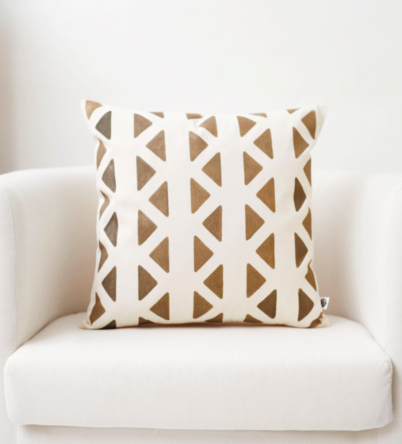 Throw pillow modern pillow hand painted pillow accent for Hand painted pillows