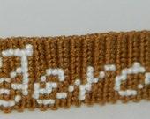 Geronimo Doctor Who bracelet