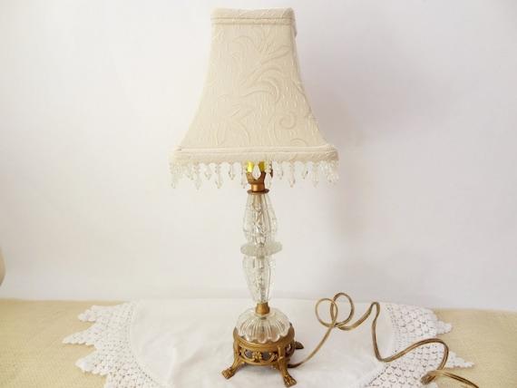 Vintage Table Lamp Shabby Chic Decor Light Fixture Lighting