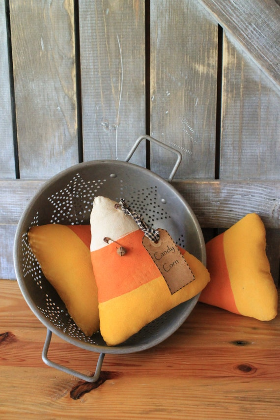 Primitive Candy Corn Fall & Halloween Decor