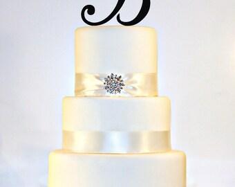 """5.5"""" Monogram Cake Topper"""