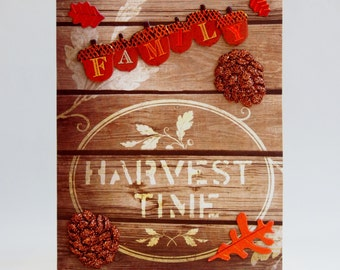 Harvest Time/Family Thanksgiving Card