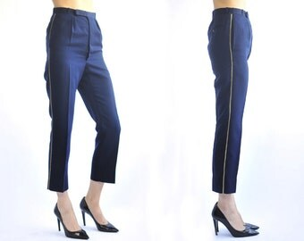 EURAL TERGAL Side Line Straight Pants