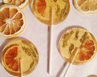 3 French Verbena Tea And Organic Lemon Lollipops