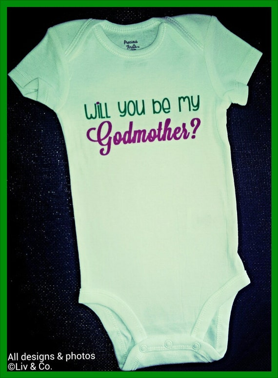 Items Similar To Godmother Baby Outfit Baby Girl Clothes