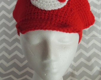 Mario-Inspired Crochet Hat - Child size only