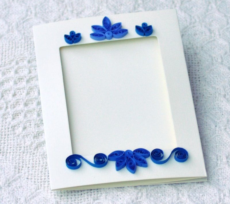 Quilling art quilled card photo frame paper by papersimplicity