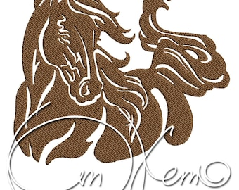 MACHINE EMBROIDERY FILE - Horse