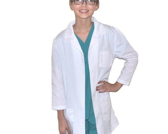 Kids Lab Coat for little Doctors and Nurses