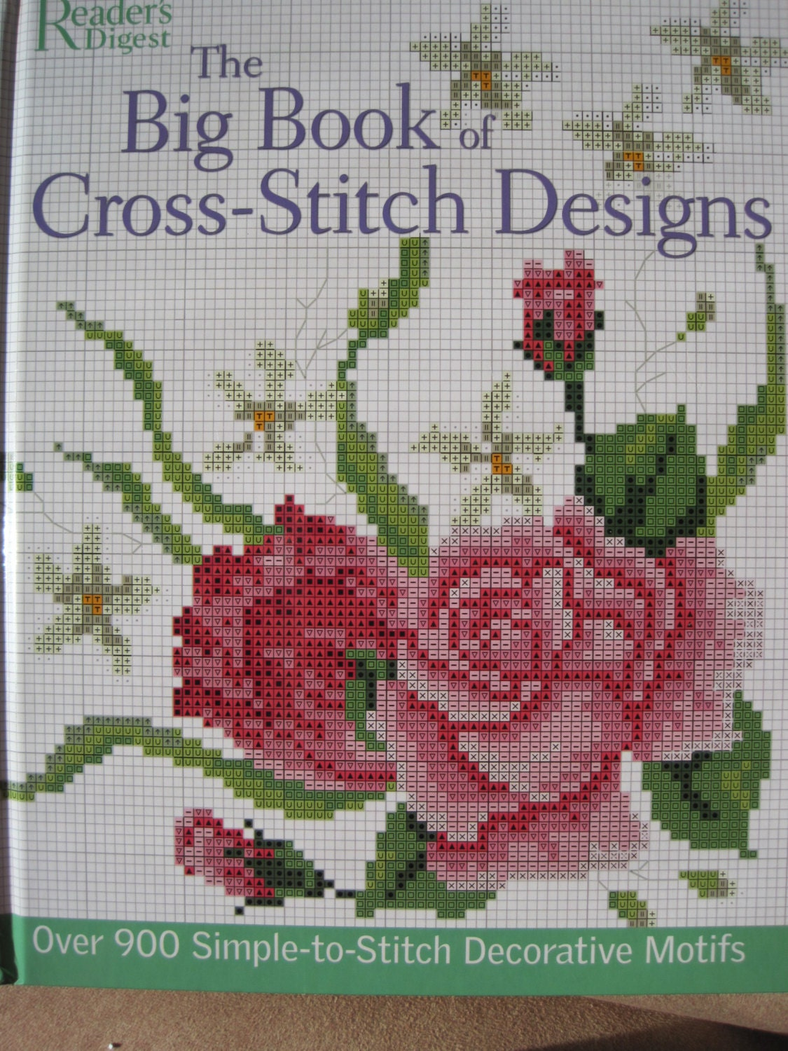 Cross stitch book the big of designs