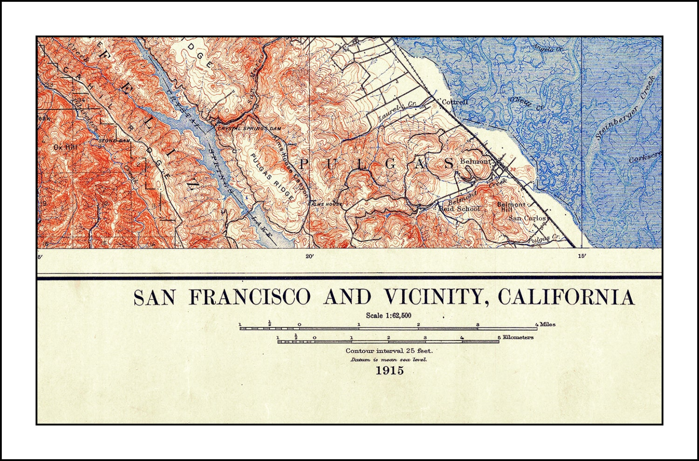 Worksheet. San Francisco Map Nautical Chart San Francisco Print California