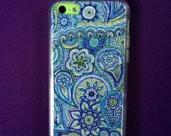 "Phone Case For iPhone 5C  ""Under The Sea"""