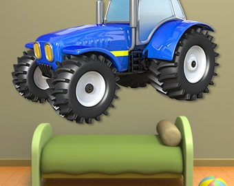 Wall decals tractor A450 - Stickers tracteur A450