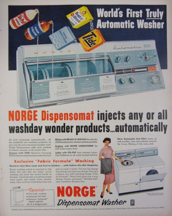 norge washing machine