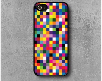 iPhone 5 / 5s Case Multicolored Pixels + Free Worldwide Delivery