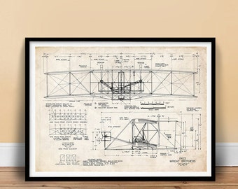 Popular items for wright flyer on Etsy