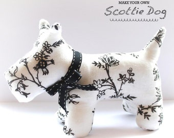 Scottie Dog Sewing PATTERN