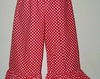 Boutique Ruffle Pants / SHORTS / Minnie Mouse / Disney Vacation / Birthday / Newborn / Baby / Girl / Toddler / Custom Boutique Clothing