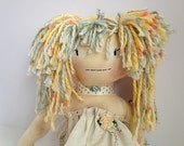 cloth handmade doll