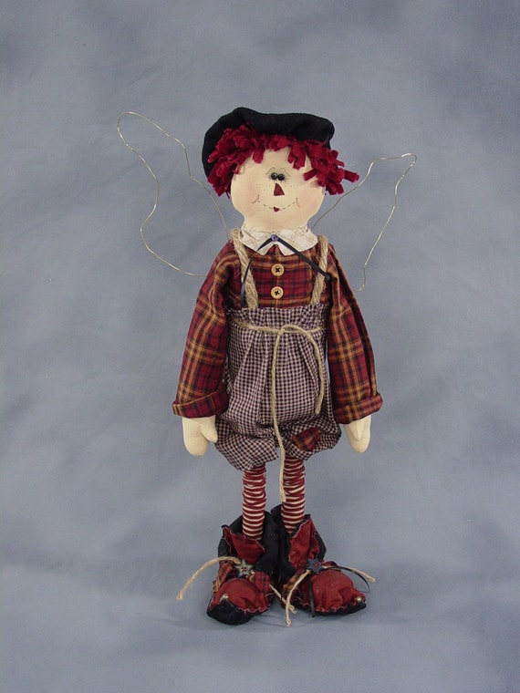 """Pattern: Andee - 22"""" Raggedy Fairy"""