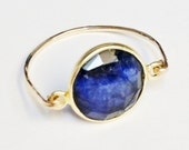 Sapphire Ring    Blue Sapphire Ring   14K Gold Filled Ring   Sapphire Jewelry